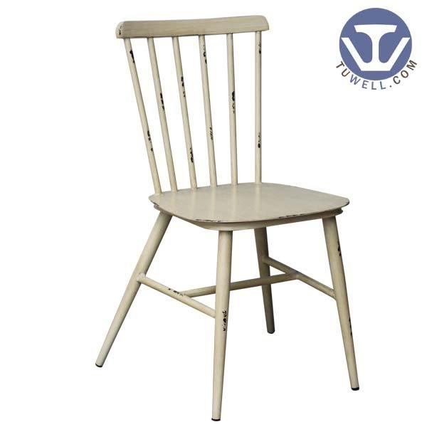 wood and metal bar stools TW8101 Aluminum windsor chair indoor and outdoor for dining Nordic style Guidelines