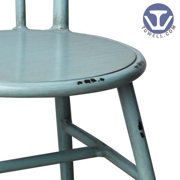 TW8102 Aluminum windsor chair indoor and outdoor for restaurant Nordic style