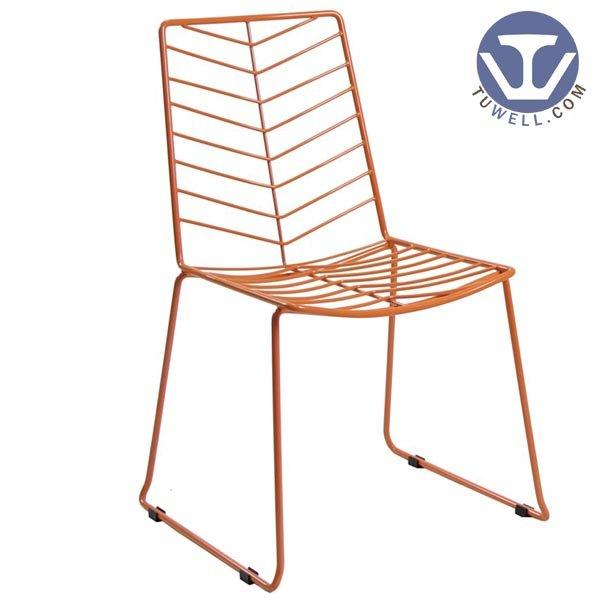 Tuwell Industrial Limited. TW8604 Steel wire chair, dining chair, restaurant chair, bistro chair info
