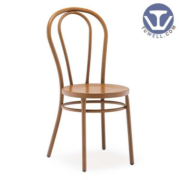 TW8013 Aluminum thonet chair, metal dining chair