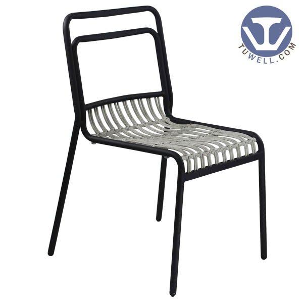 TW8110 Aluminum rattan chairindoor and outdoor Aluminum rattan chair living room chair dinning chair coffee chair party chair Eu
