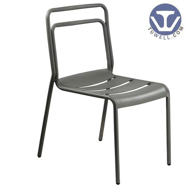 TW8107 Aluminum side chair for dining bistro chair