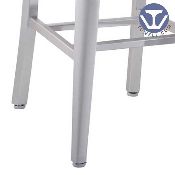 TW1001 Emeco Aluminum Navy Chair indoor and outdoor for dinning American industrial style