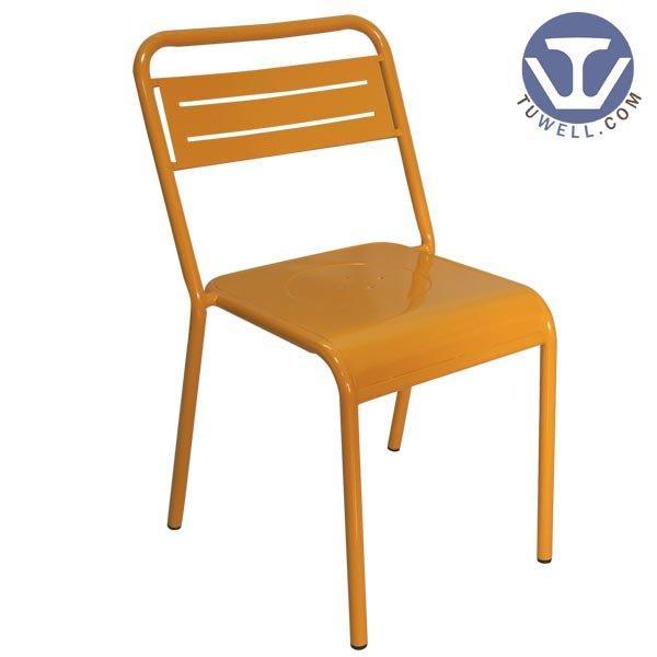 TW8015 Steel chair metal dining chair