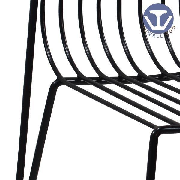 TW8617 Steel wire chair, dining chair, restaurant chair, bistro chair