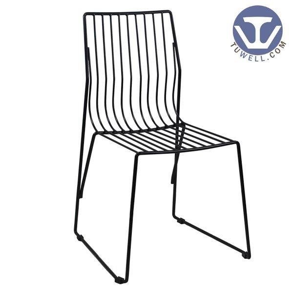 TW8617 Steel wire chair, dining chair, restaurant chair, bistro chair