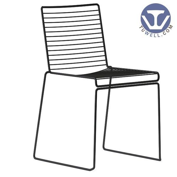 The guide of TW8606 Steel wire chair, dining chair, restaurant chair, bistro chair