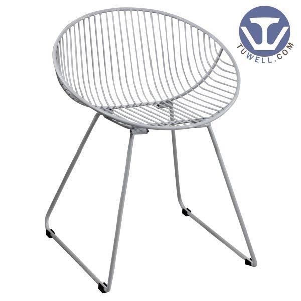 TW8615 Steel wire chair, dining chair, restaurant chair, bistro chair