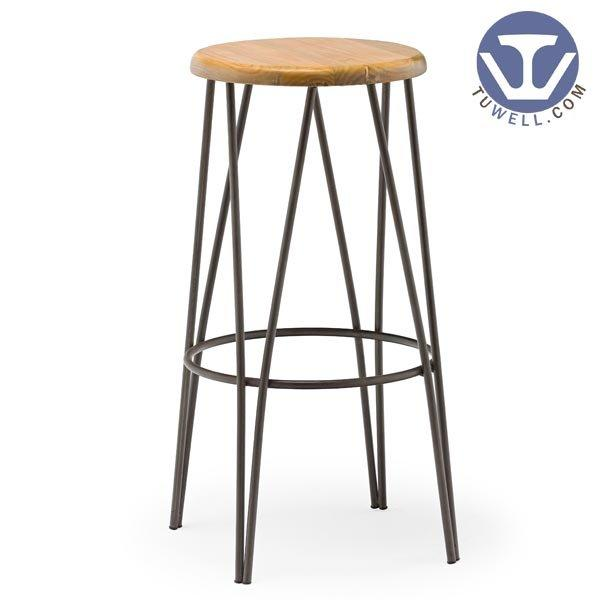 TW8041 Steel bar stool coffee shop bar stool