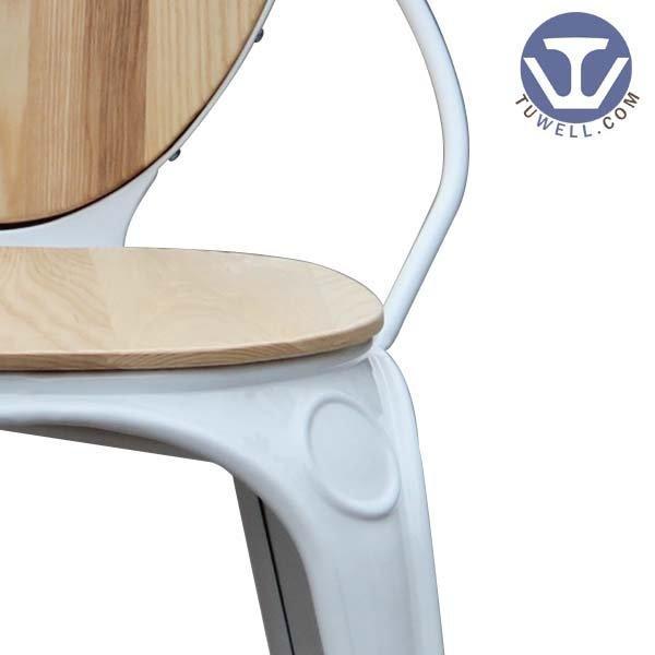TW8025 Louix chair, Steel dining chair