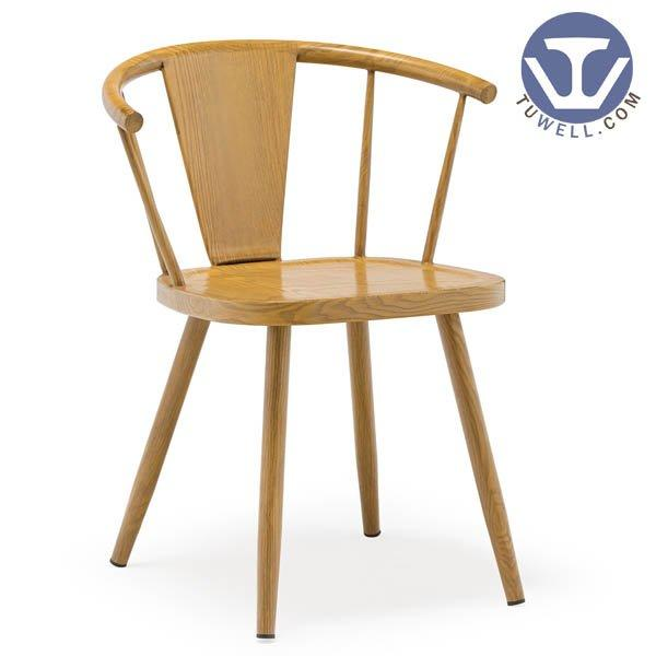 TW8029 Steel chair indoor and outdoor dinning chair coffee chair Nordic style