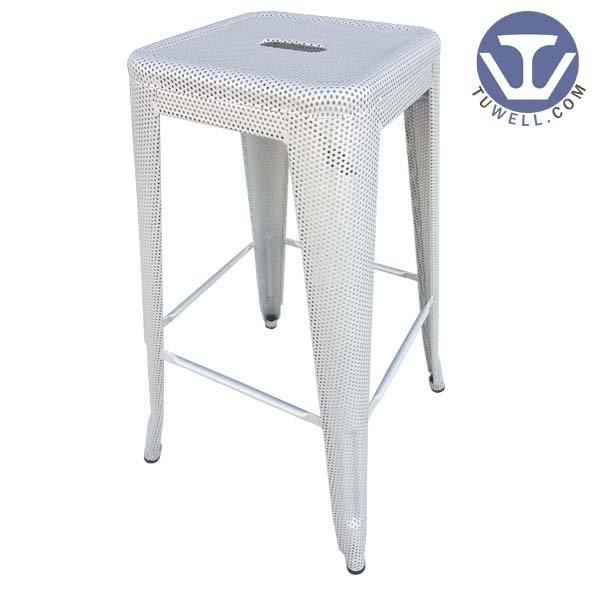 TW8003-B Steel Tolix barstool, dining chair, steel stool, barstool with meshes
