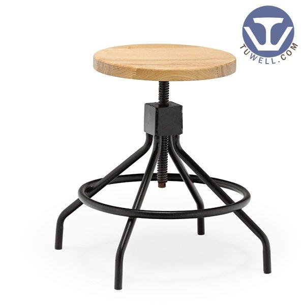 TW6102 Steel stool for dining restaurant stool