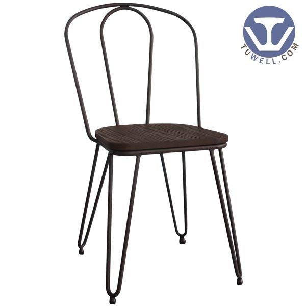 TW8014 Steel chair for dining American country style