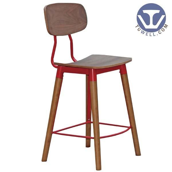 TW8028-M Copine chair Steel bentwood bar chair
