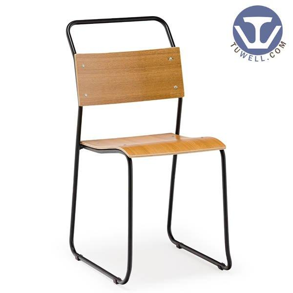 TW6106 Steel bentwood chair