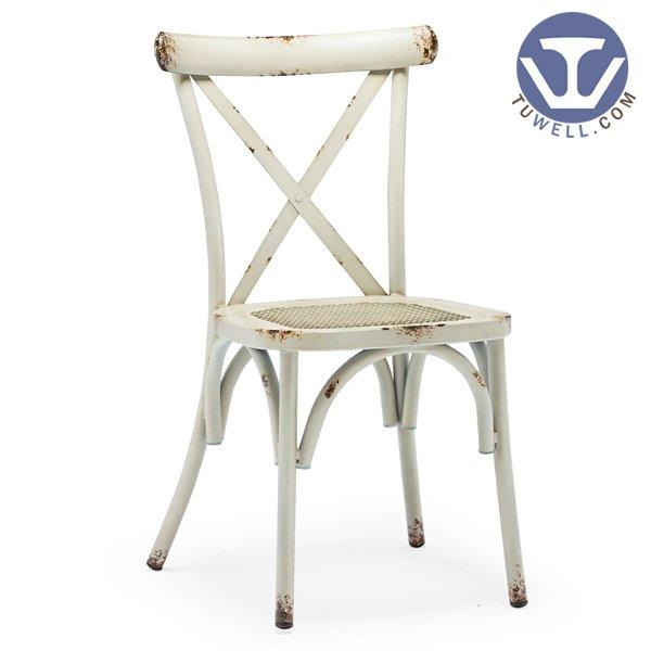 TW8080-B Aluminum cross back chair indoor and outdoor wedding chair American country style