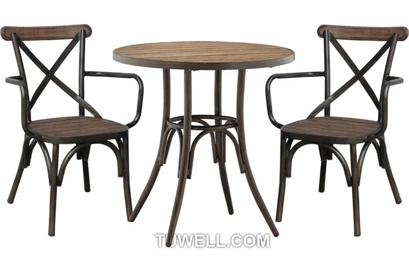 Tuwell-High Quality Tw8081-w Aluminum Cross Back Chair Factory-4