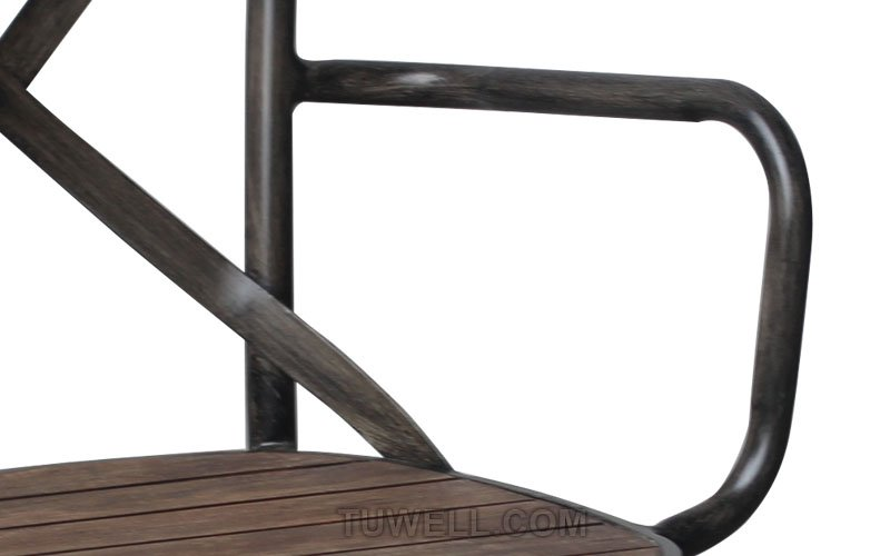 Tuwell-High Quality Tw8081-w Aluminum Cross Back Chair Factory-7