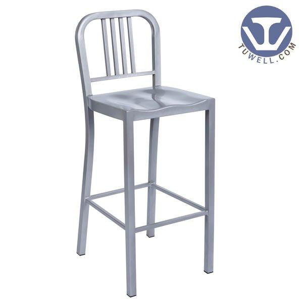 TW1030-L Emeco Steel Navy bar chair indoor and outdoor for dining American industrial style