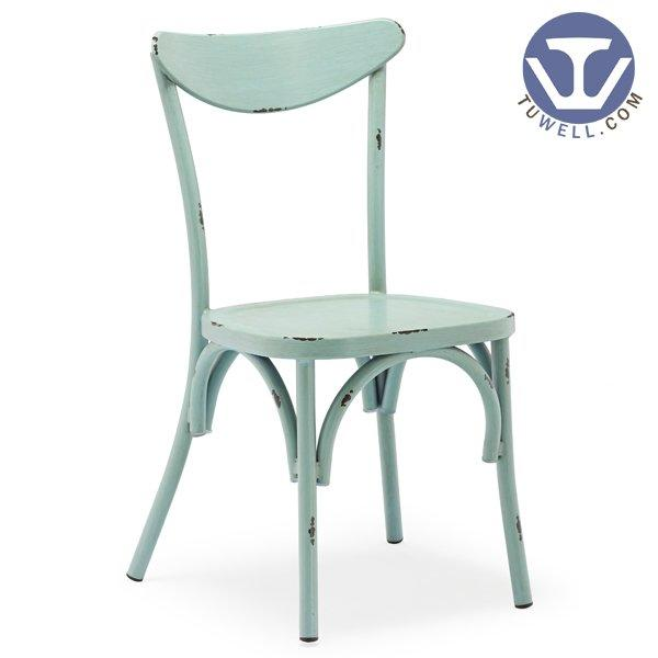 TW8026-B Aluminum chair for dining