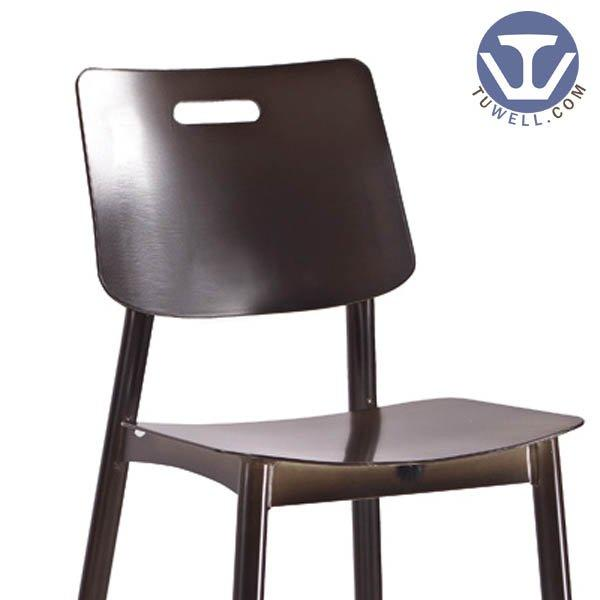 TW8023-L Aluminum bar chair coffee bar chair