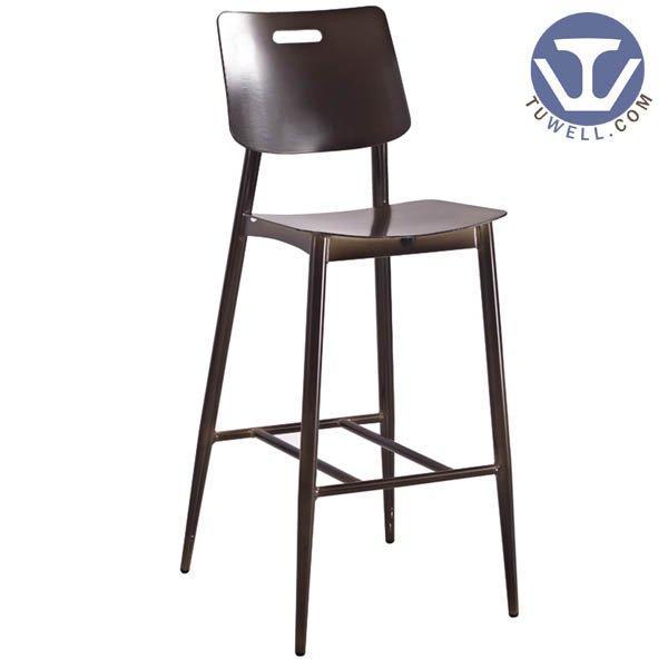 TW8023-L Aluminum bar chair coffee bar chair