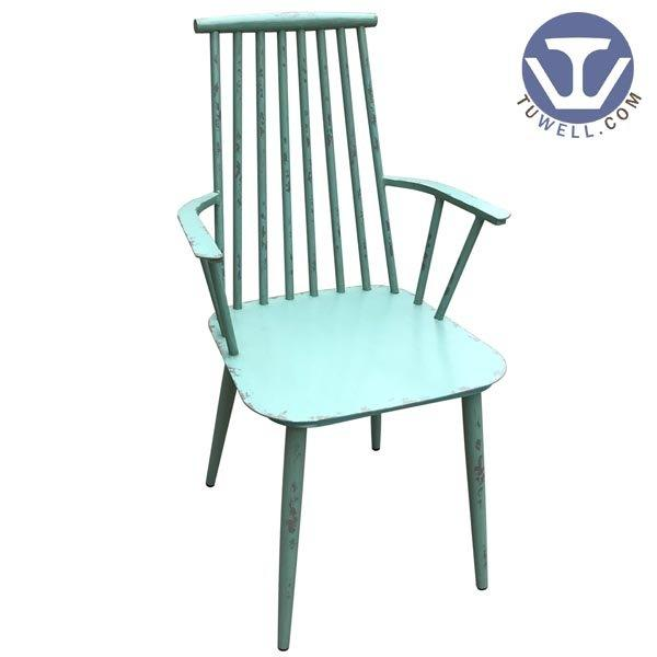 TW8713 Aluminum windsor chair indoor and outdoor for garden Nordic style