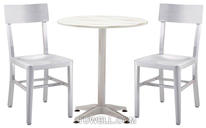 Tuwell-Best Tw1001 Emeco Aluminum Navy Chair Navy Stool-4