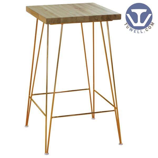 TW8621 Steel bar table cafe bar table