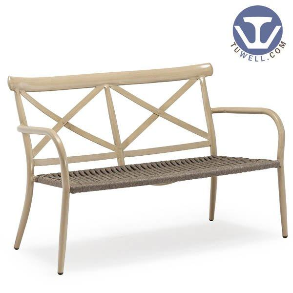 TW8707 Aluminum double seat rope chair dinning chair coffee chair party chair Nordic style Scandinavian style