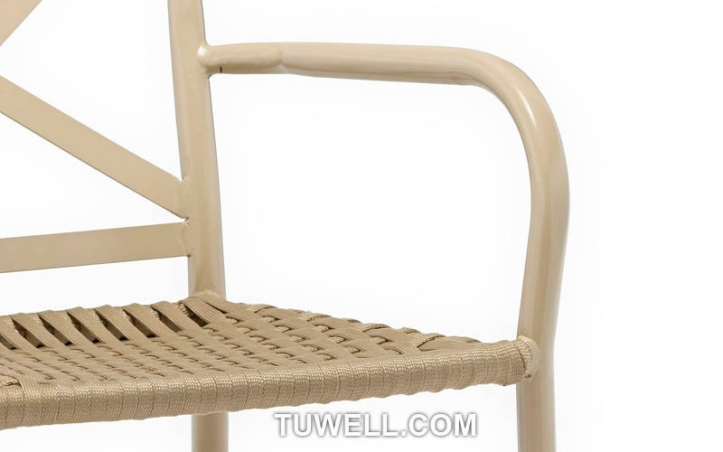 Tuwell-Find TW8706 Aluminum rope chair-7