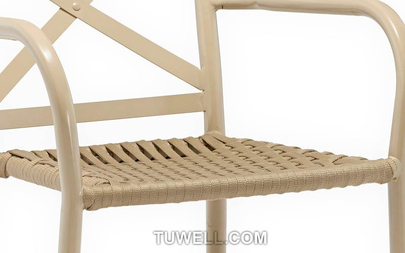 Tuwell-Find TW8706 Aluminum rope chair-9
