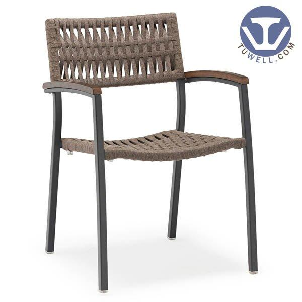 TW8705 Aluminum rope chair dinning chair coffee chair party chair Nordic style Scandinavian style