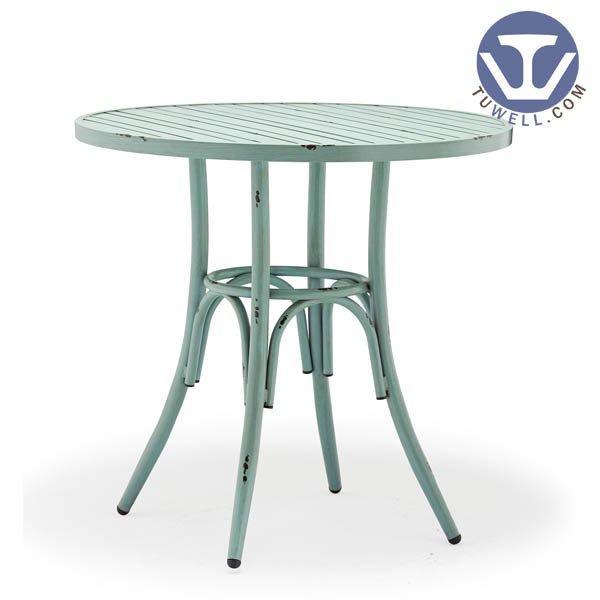 TW7024 Aluminum dining table