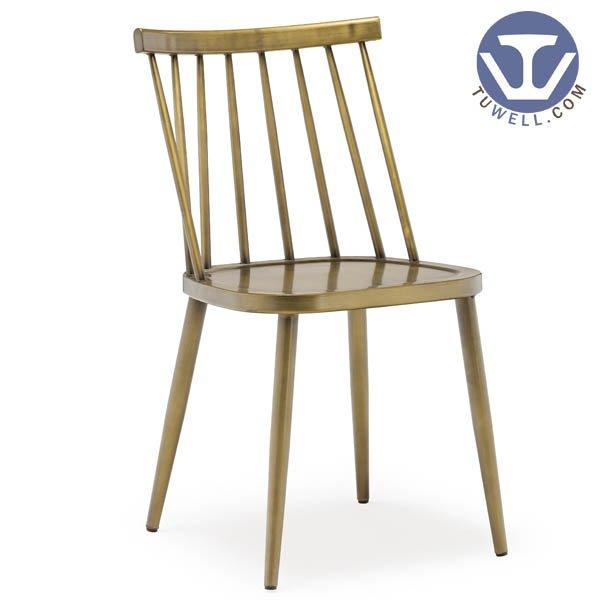 TW8031 Aluminum windsor chair indoor and outdoor for coffee shop Nordic style