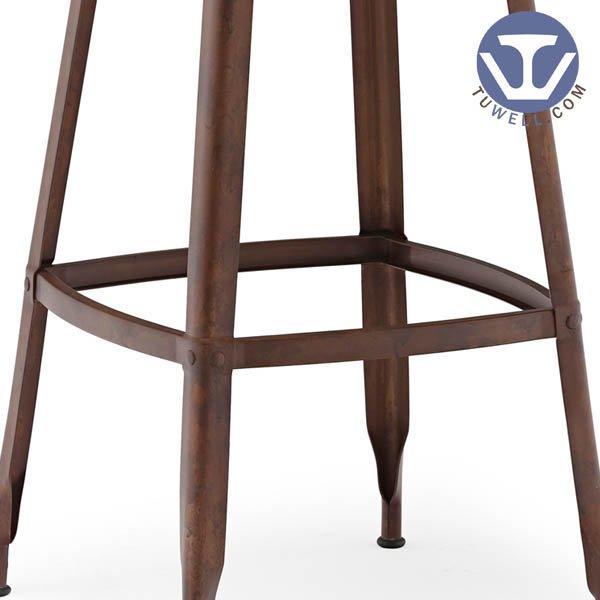 TW8033-L Steel bar stool  bistro bar stool