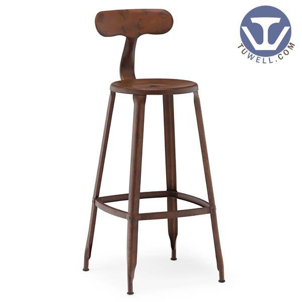 TW8033-L Steel bar stool  bistro bar stool