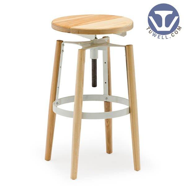 TW8044 Steel bar stool dining chair coffee chair Nordic style