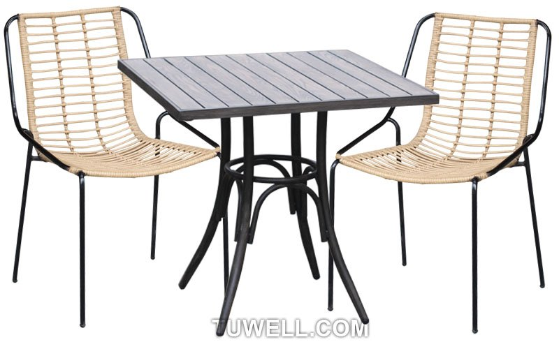 Tuwell-Find TW8709 Steel Rattan Chair-4