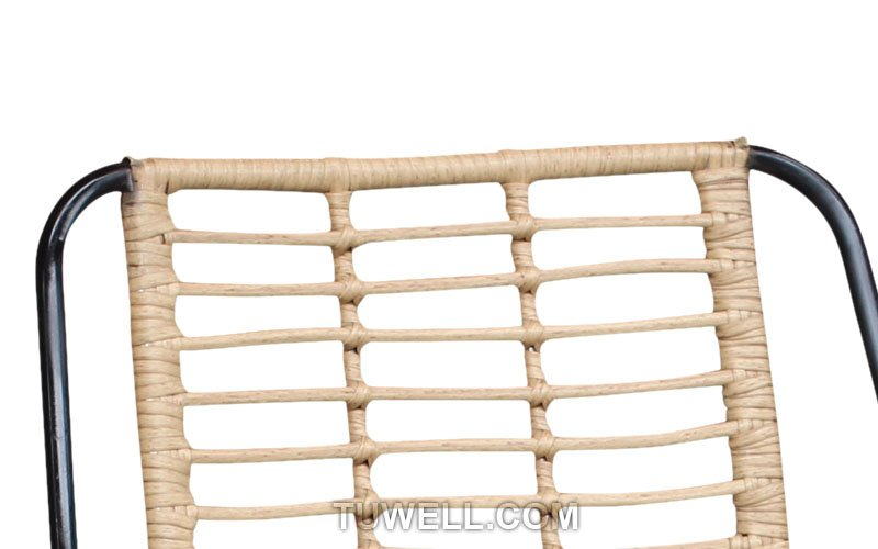 Tuwell-Find TW8709 Steel Rattan Chair-6