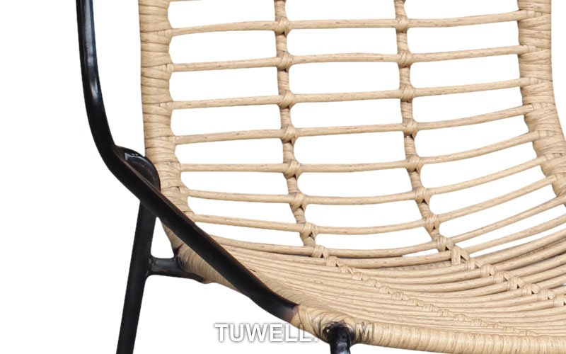 Tuwell-Find TW8709 Steel Rattan Chair-7
