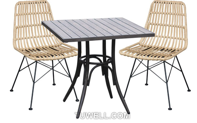 Tuwell-Find TW8708 Steel Rattan Chair-4