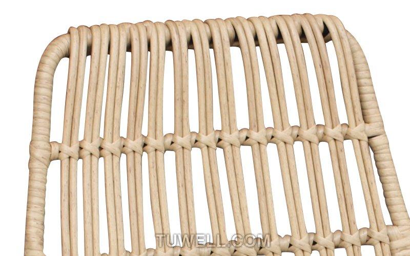 Tuwell-Find TW8708 Steel Rattan Chair-6