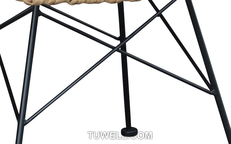 Tuwell-Find TW8708 Steel Rattan Chair-7