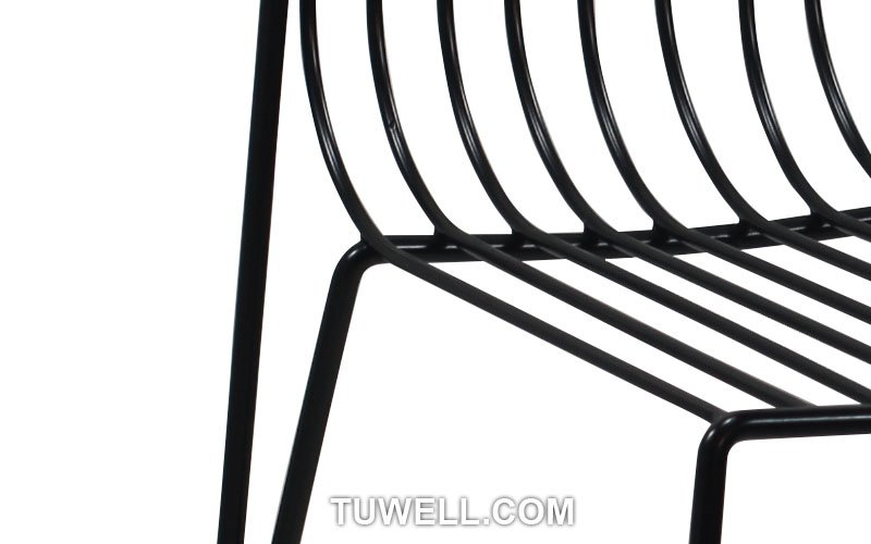 Tuwell-Professional Metal Wire Tw8617 Steel Wire Chair Manufacture-8
