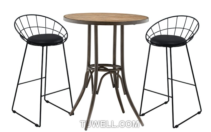 Tuwell-Tw8616-l Steel Wire bar Chair-4