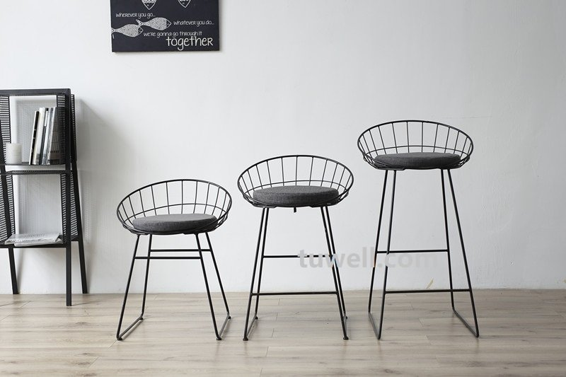 Tuwell-Tw8616-l Steel Wire bar Chair-12