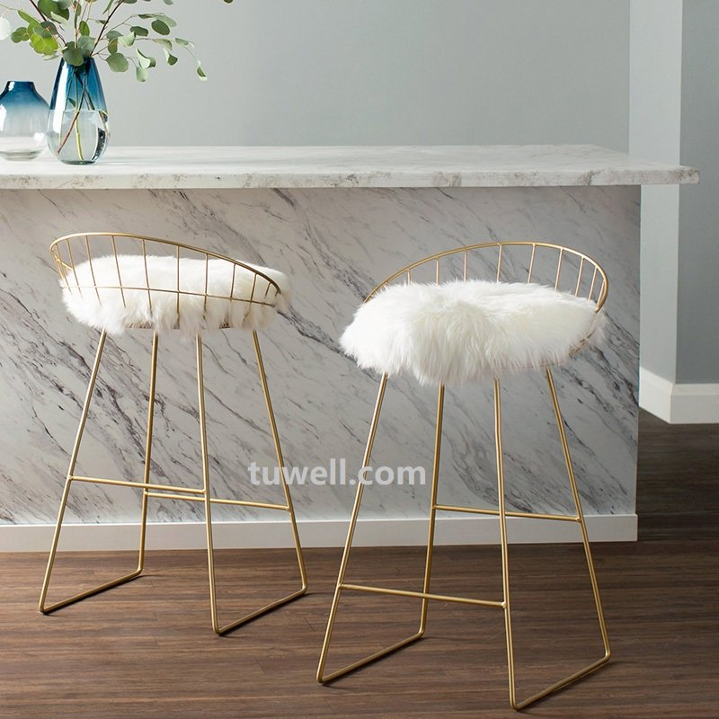 Tuwell-Tw8616-l Steel Wire bar Chair-13