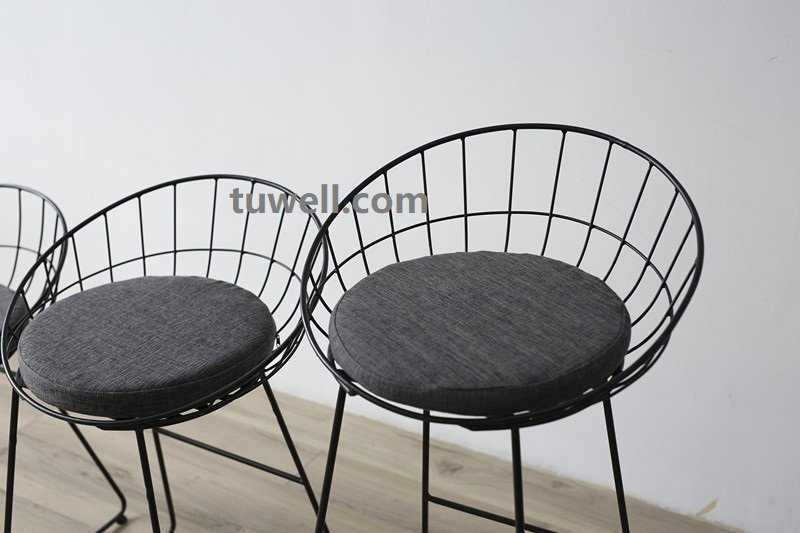 Tuwell-Tw8616-l Steel Wire bar Chair-14